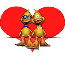 Loving Couple Photographic Print