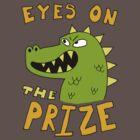 Eyes on the prize dinosaur by DiabolickalPLAN