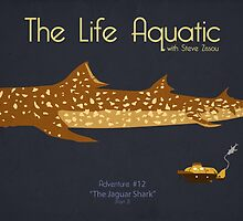 The Life Aquatic - Jaguar Shark by Kodi  Sershon