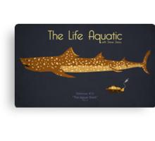 The Life Aquatic - Jaguar Shark Canvas Print