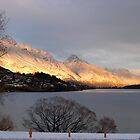 Mountain Rise - Lake Wakatipu, Queenstown, New Zealand by Deanna Roberts Think in Pictures