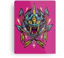 Cat Beast  Metal Print