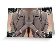 SUIT UP. Greeting Card