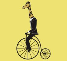 Penny-farthing Giraffe Kids Clothes