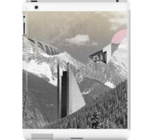 BRUTAL MOUNTAIN. iPad Case/Skin