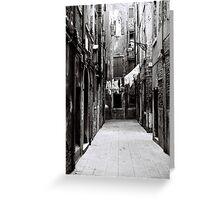 Street Car Named Venice Greeting Card