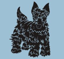 Shaggy Scotty Dog  Kids Clothes