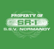 Naval Property of SR1 Kids Clothes