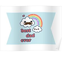 Cute Best Dad Ever Poster
