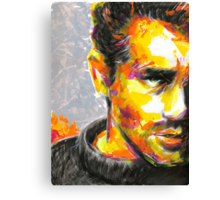 JAMES DEAN Original Ink & Acrylic Painting Canvas Print