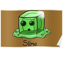 Slime Minecraft Poster