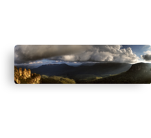 The Three Sisters Echo Point Katoomba The Blue Mountains  HDR Canvas Print