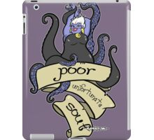 Poor Unfortunate Souls iPad Case/Skin