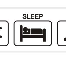 EAT SLEEP DRIFT Sticker