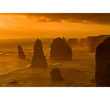 Twelve Apostles Sunset Photographic Print