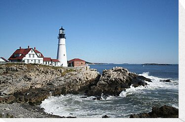 Portland Head Light House, 1314 views! by Linda Jackson