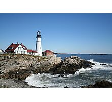 Portland Head Light House, 4700 views! Photographic Print