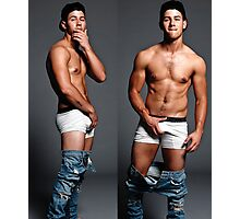 Nick Jonas Photographic Print