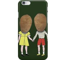 small potatoes iPhone Case/Skin