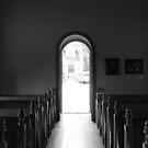 Winans Chapel B&W by elasita