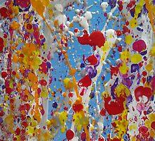 balloons in the sky! by kylerbarnes