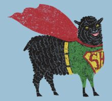 Superhero  Sheep by SusanSanford