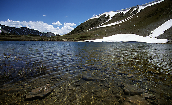 Small Lake on Loveland Pass, Colorado by Brian Hendricks