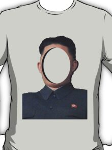 No-Face: Supreme Leader Kim Jong-un T-Shirt