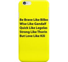 The Dwarf I Want to Be iPhone Case/Skin