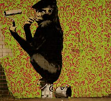 Banksy - Cans Festival 1 London by Kiwikiwi