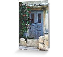 HC 26 Door Greeting Card