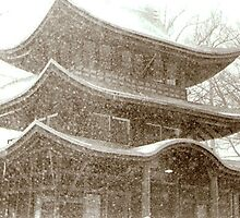 Snowstorm Gazebo by Susie Warner