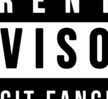 Parental Advisory - Explicit Fangirling Sticker