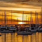 Sunrise at Matilda Bay, Perth by Mark  Nangle