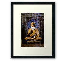 Banksy - Bashed Buddha Framed Print