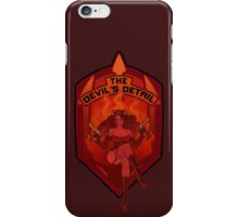 The Devil's Detail iPhone Case/Skin