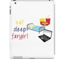 Eat, sleep, fangirl iPad Case/Skin