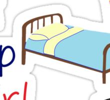 Eat, sleep, fangirl Sticker