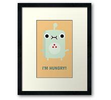 Little Monster - I'm Hungry! Framed Print