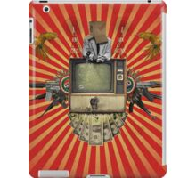 The Revolution Will Not Be Televised! iPad Case/Skin