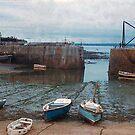 Cornish fishing village by georgieboy98