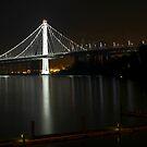 New San Francisco Bay Bridge by Jenn Ramirez
