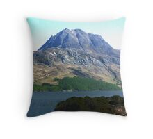 Slioch, North-west Scotland Throw Pillow