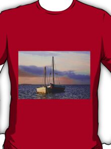 Two dhows on the ocean T-Shirt