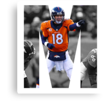 M is for Manning Canvas Print
