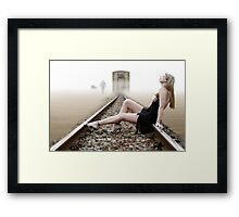 TOO MUCH LOVE WILL KILL YOU Framed Print