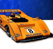 Can-Am McLaren M8F by Stuart Row