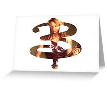 B - Buffy comic - Buffy Greeting Card