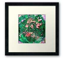 Abstract #8: Magic Forest Framed Print