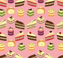 Cake Buffet Pattern by Cynthia Arre